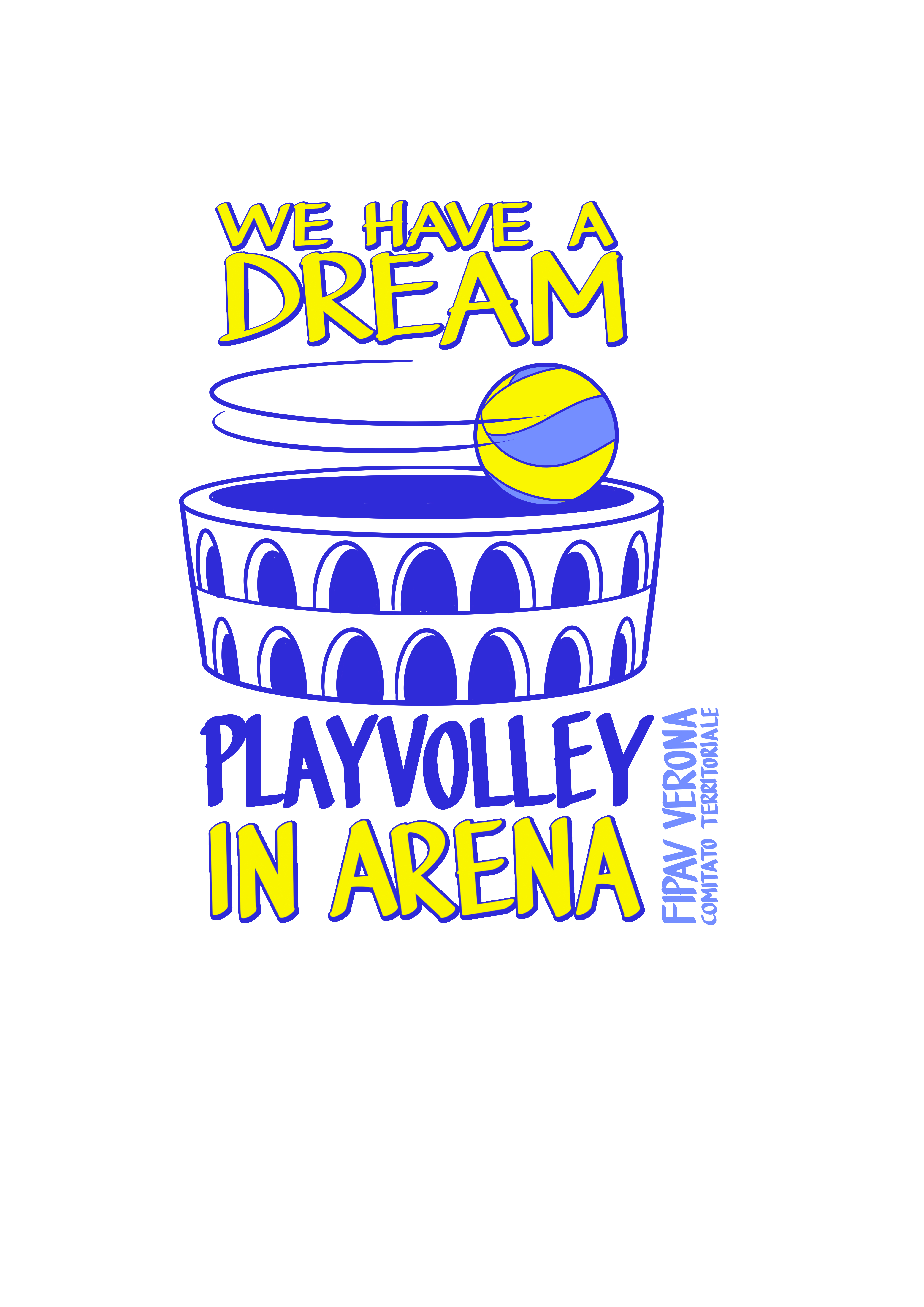 We have a Dream: play Volleyball in Arena